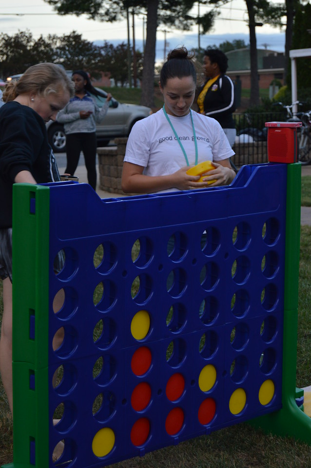 Strategies and Connect Four.  September 22, 2016 gwu photo by: Hannah Anders