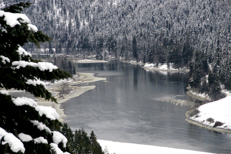 A Cold Kootenai River