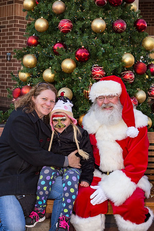 2016 Pictures with Santa!