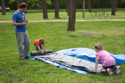 Camping in May