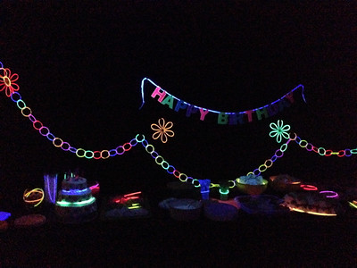 Eden's Glow 7th Birthday Party