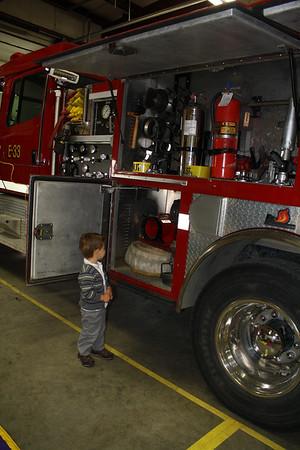Fire Department Field Trip