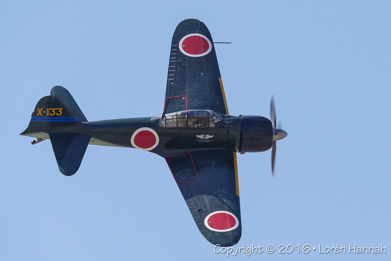 Mitsubishi A6M3 Zero - CAF
