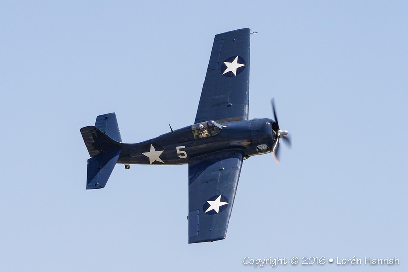 FM-2P Wildcat -Texas Flying Legends