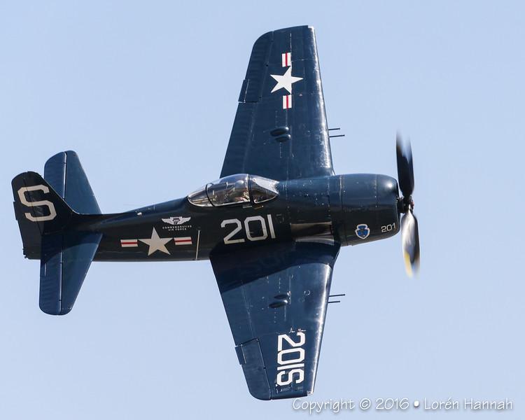 Grumman F8F-2 Bearcat - CAF