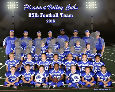 2016 P V Cubs 85lb Football Team