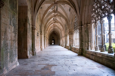 Royal cloister, the Dominican abbey of Santa Maria da Vitoria, Batalha