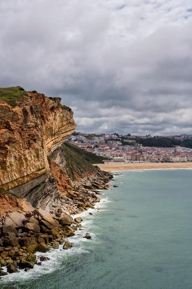 Cliffs overlooking Nazare