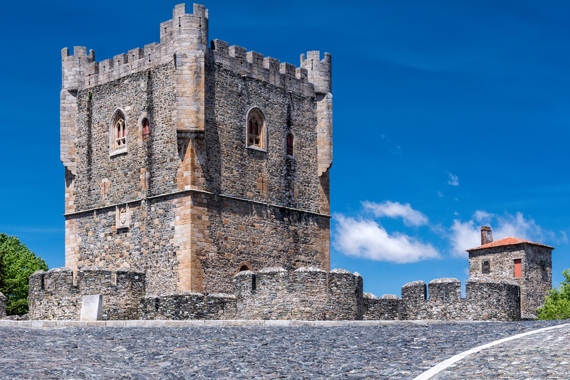 The citadel, walled city of Braganca