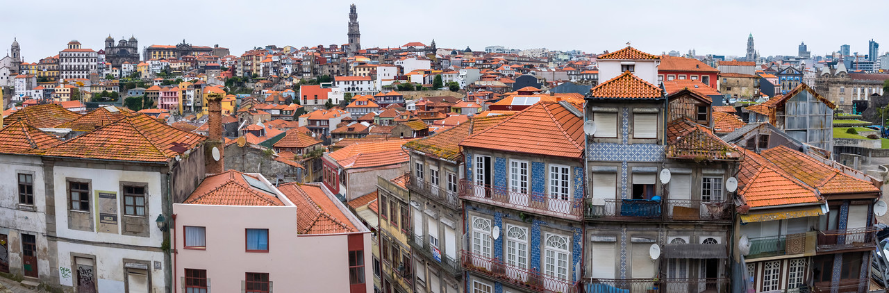 Cathedral district and Ribeira district, Porto