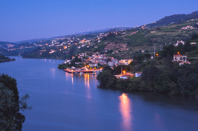 Blue hour, Douro Valley