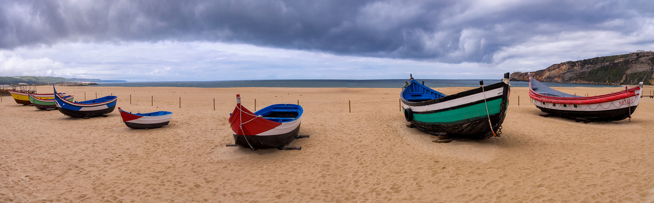 Traditional fishing boats, Nazare