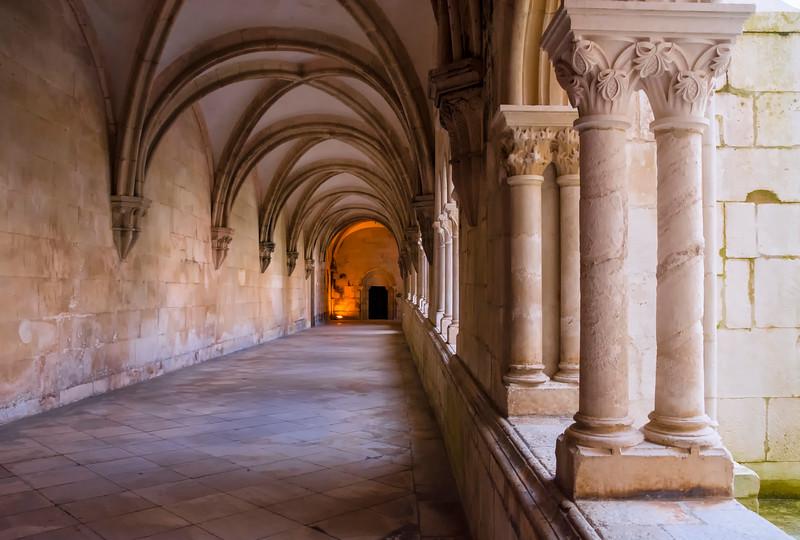 Alcobaca Monastery cloisters