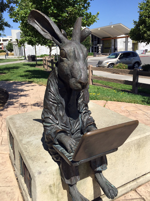 reading rabbit