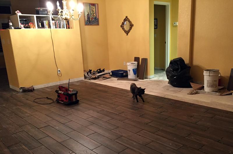 flooring last year