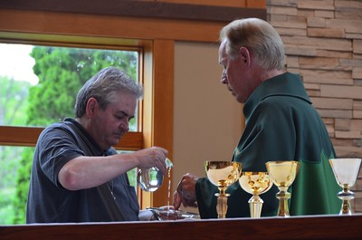 Br. Brian and Fr. Jim