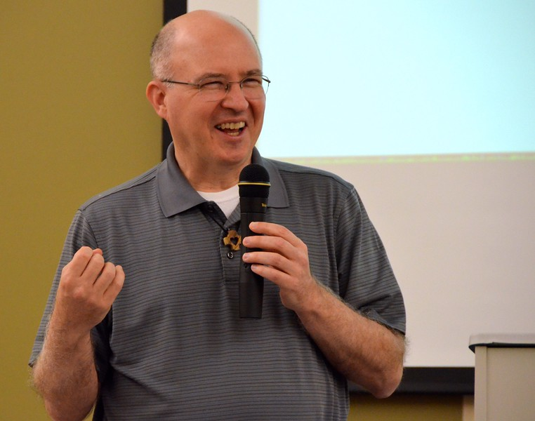 Fr. Stephen Huffstetter, former provincial superior and now general councilor