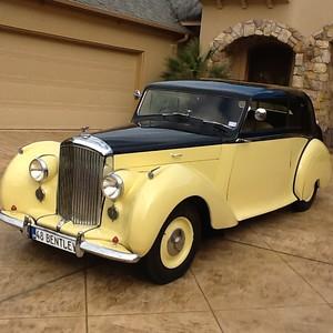 Bentley 1948 B432CF Park Ward