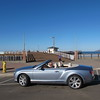Tom and his 2013 Bentley Continental GTC checking out the Pismo Beach City Pier scene.