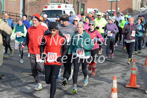 2016 Greenfield Winter Carnival 4-Miler