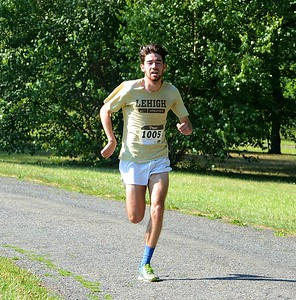 Newtown's Brian Arita took fifth place, overall.