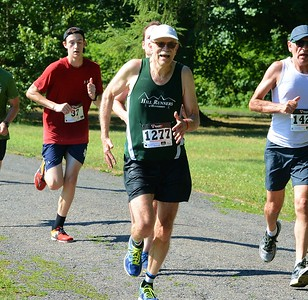 New Hope's Ed Leydon finished first among the 70-98 year old males.
