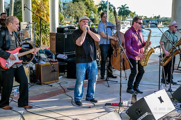 2/27/16 Chris O'Leary at Riverwalk Blues Festival