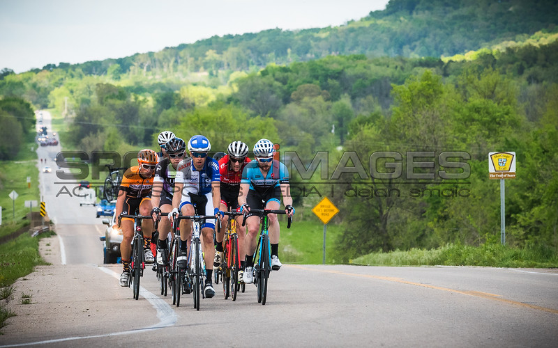 Joe Martin Stage Race Stage 2. UCI Pro 1 Men.  The breakaway establishes over a minute on a content field as Tyler Manger (UHC) and Nicholas Torraca (Elevate) share duties at the front.