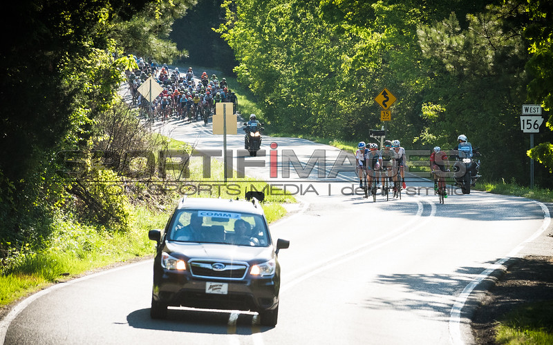 Joe Martin Stage Race.  Stage 3.  UCI Pro 1 Men's Race. After spending most of the day off the front, the breakaway is about to be reeled in by a hard charging field during the final lap.