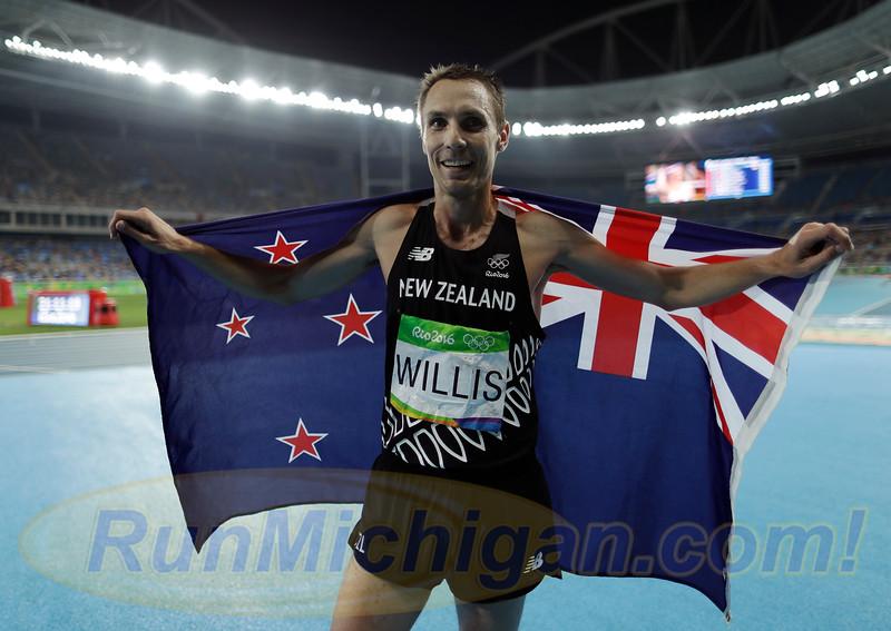 Ann Arbor's Nick Willis Blazes to Bronze in Rio