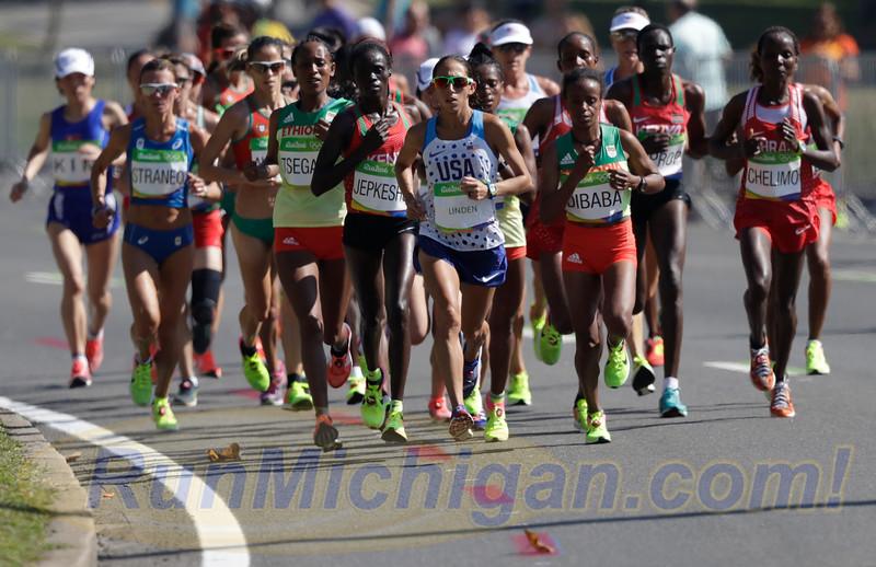 Desiree Linden of Hansons-Brooks ODP Places Seventh in Women's Marathon