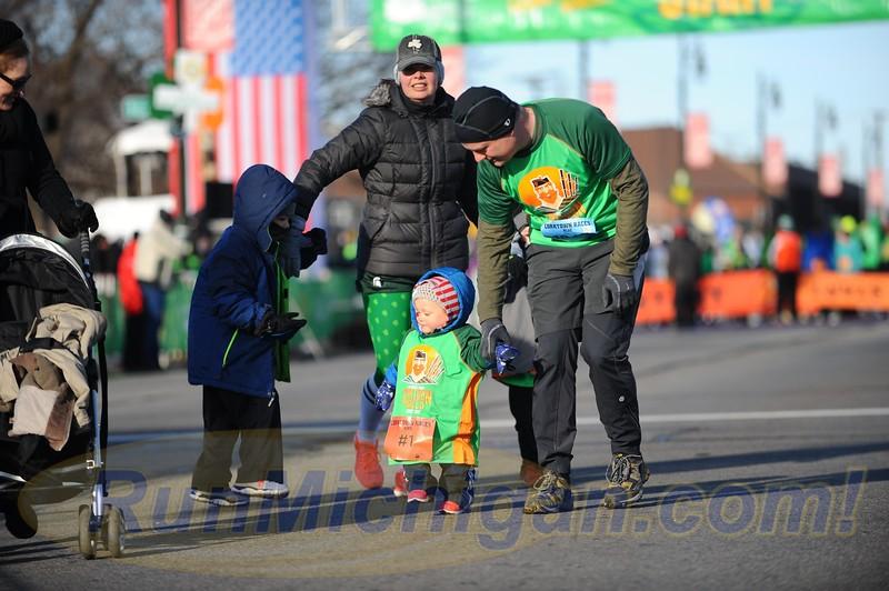 2017 Detroit St. Patrick's Parade Corktown Races
