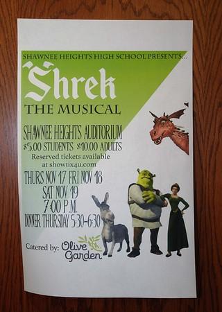 "2016 SHHS ""Shrek"" Rehearsal"