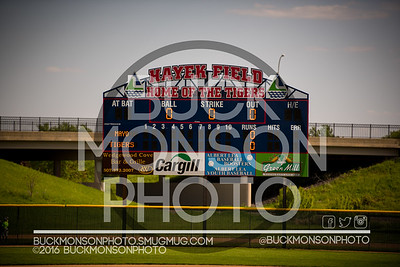 05-19-16 Albert Lea Tigers Baseball