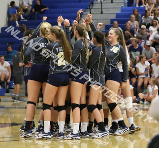Yucaipa vs Citrus valley girls volleyball 2016