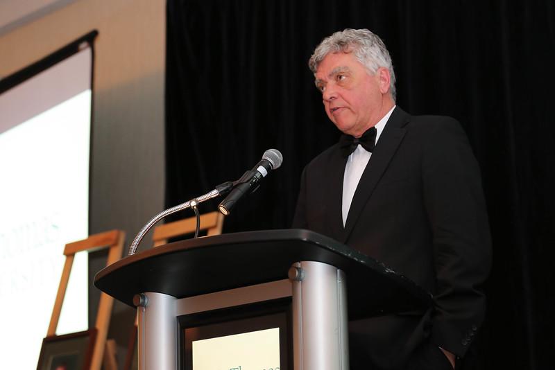 Roger Clinch, BA '68, was the co-recipient of the 2016 Carolyn Layden-Stevenson Distinguished Alumni Award