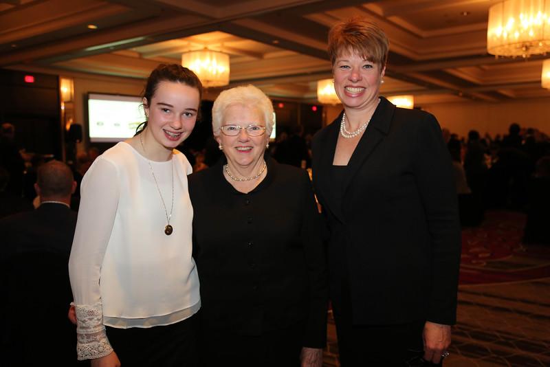 Ellen Richardson, Joan Kenny, and Natalie Kenny