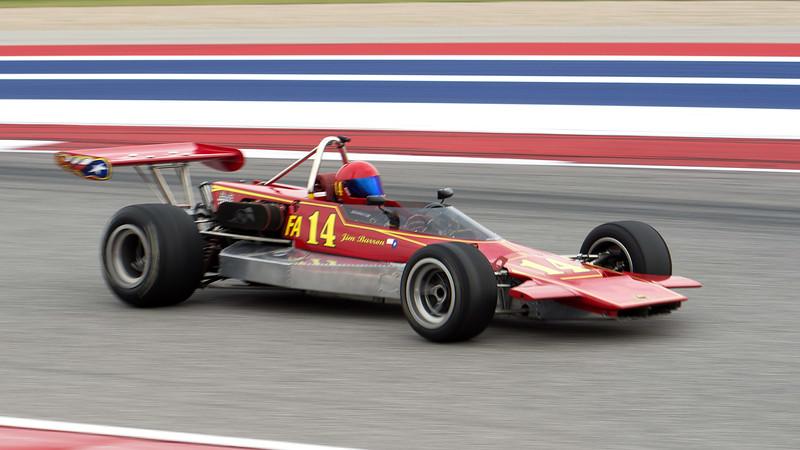 1972 Lola t240 - driver: James Barron