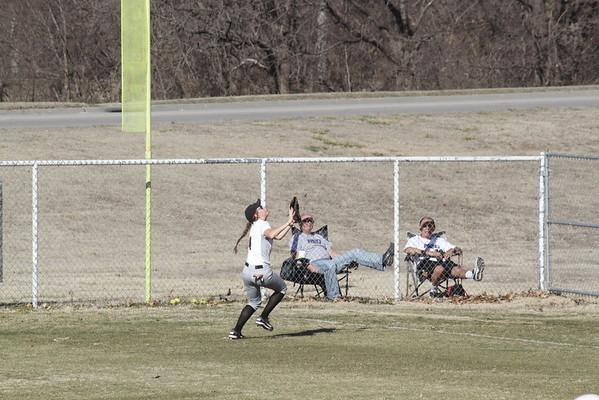 2016 Softball Game Action