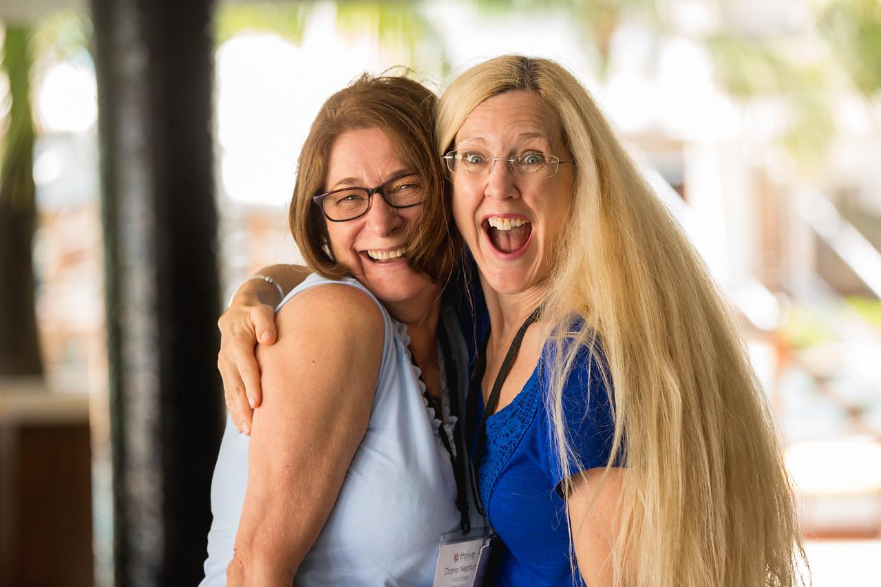 V Diane Neptune and V Carolyn Larson