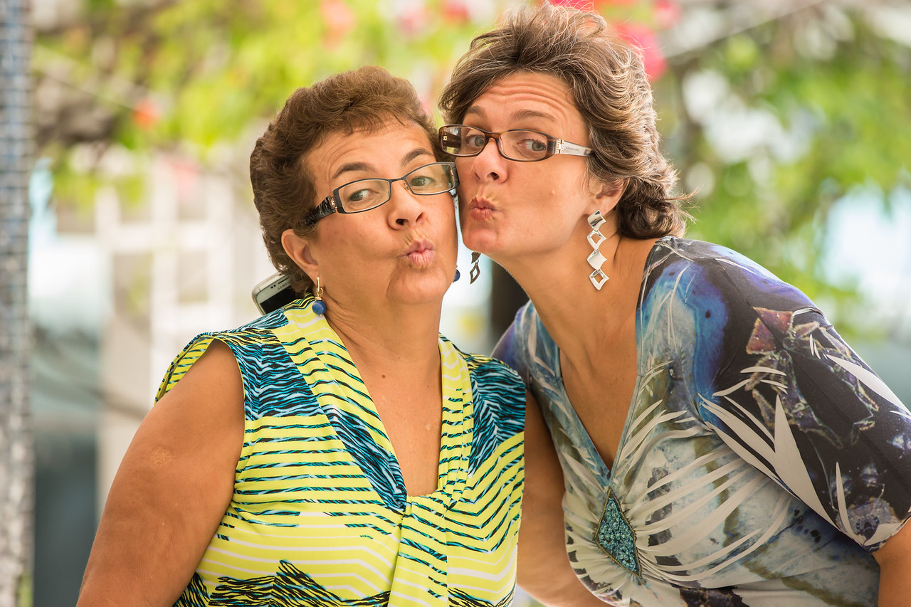 mother & daughter A Vicki La Feber and A Michelle Campos