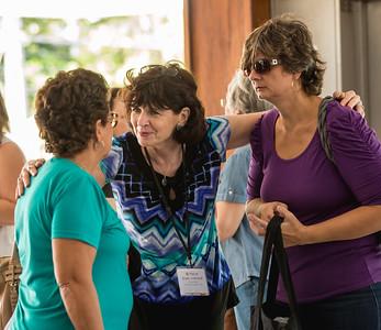 A Vicki La Feber, V (speaker) Shelly Volkhardt, A Michelle Campos (Vicki is Michelle's mom)