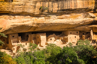 Spruce Tree House at Mesa Verde National Park in Colorado
