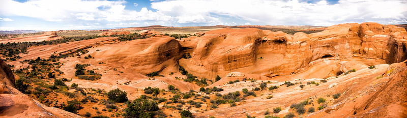 Arches National Park in Moab, Utah (Area behind Delicate Arch)