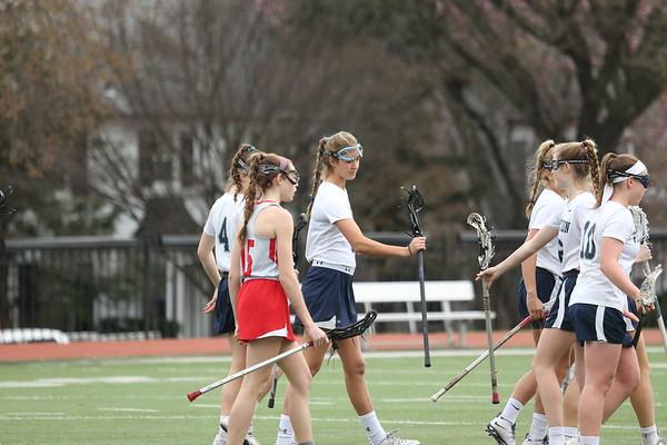 Girls lacrosse: Visitation vs. St. John's