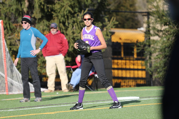 Softball: Cathedral Scrimmage