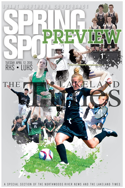 2016 Springs Sports Preview Cover