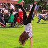 Emily Leon 8 yrs plays around at Starburst