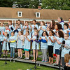 Kids from the Frances Drake School perform
