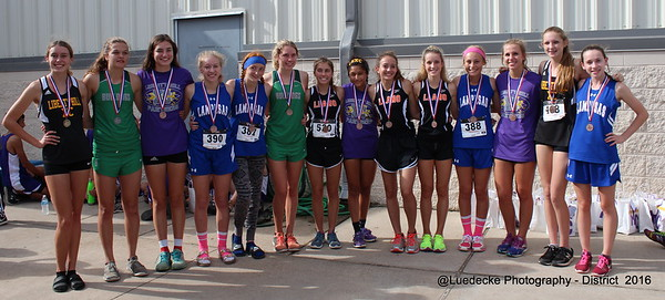 Cross Country: District Girls Varsity